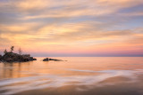 Lake Superior in pastel