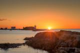 Sunrise at Grand Marais harbor 2