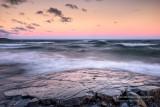 Waves at sunset 2