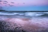 Waves at sunset 3