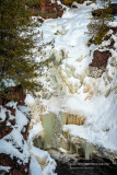 Brownstone falls under ice