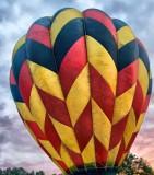 Hot air balloon festival Pittsfield NH