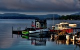 Wolfeboro Bay in the early light