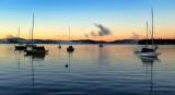 Sunrise Wolfeboro Bay.