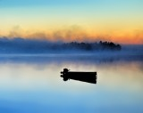 In the still of dawn