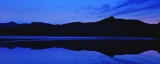 Mount Chocorua just before sunrise