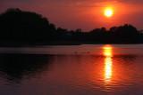 Landscapes sunrises and sunsets sceneries at Biskupin