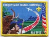 2013 Conquistador Council Camporall