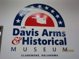 Davis Arms Museum in Claremore, Oklahoma..