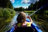 2016 Kayaking on Czarna Hancza River (Poland)