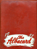 1951 Albacard pages as Freshmen