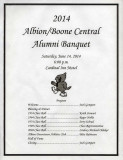 2014 Banquet Program (11 pages)