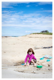 Sand play at Paines Creek Beach