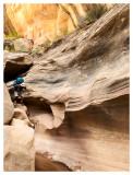 Gravel Canyon Descending Narrows