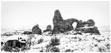 Snowy Turret Arch