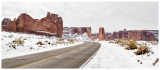 Winter comes to Arches