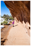 Norah near Navajo Arch