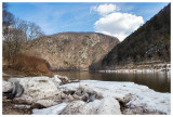 Delaware Water Gap Weekend - Mt. Tammany Race, George W. Childs waterfalls, and bird banding March '14