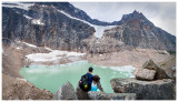 Steve and Norah at Mount Edith Cavell