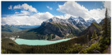 Lake Louise from the Little Beehive