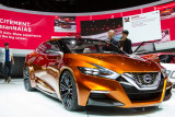Nissan sport sedan concept vehicle
