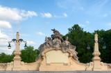 Sculptures On Markievicz Viaduct