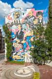 Mural Near Chopin Museum