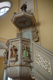 The Pulpit In St. Archangel Michael Church