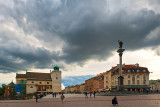 Awesome Sky Over Castle Square