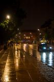 Krakowskie Przedmiescie In Rain