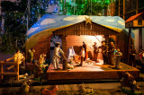 Nativity Scene At BV Mary Church