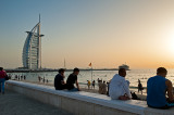 Jumeirah Beach And The Sail
