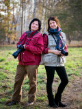 Jola and Emilia in the UNCO Jacket and Vest