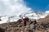 Trekking Above Camp 3