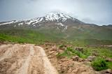 Leaving Mt. Damavand Behind