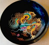 Dragon On The Lacquerware