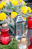 Angel On The Grave Lantern
