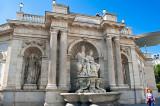 The Danubius Fountain At Albertina