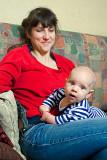 Maurycy With His Mama