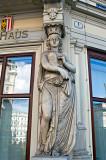 Caryatid At Operngasse