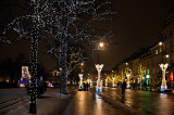 Glittering Street Decorations
