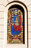 Mosaic Representing Saint Leopold