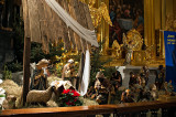Nativity Scene At Church Of The Holy Cross