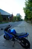 A blue ninja @f11 D700