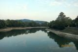 Okayama castle & Asahi-river