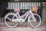 a white bike @f1.1 a7