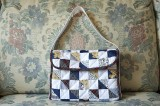 Quilted bag for iPad mini