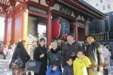 Family photo at Asakusa