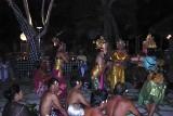 Night dance with gameran music