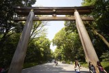 Torii of Meiji Shrine @f8 a7